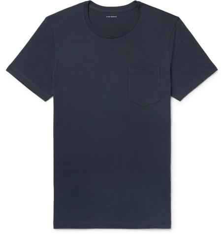 Club Monaco - Williams Cotton-Jersey T-Shirt - Midnight blue