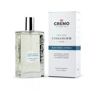 Cremo Spray Cologne Cedar Blue Cedar and Cypress - 3.4oz