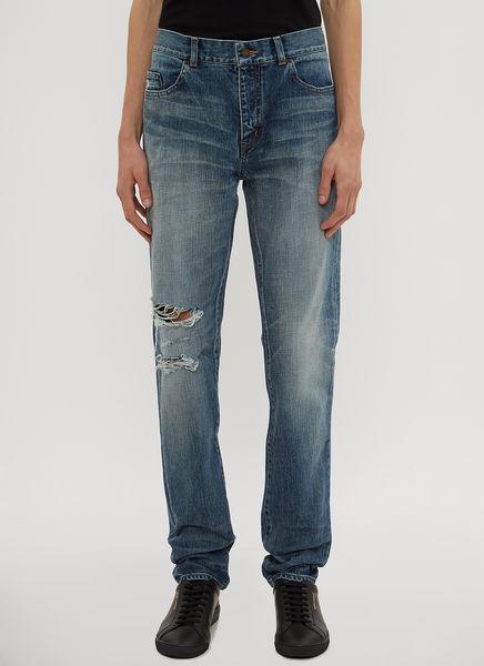Destroyed Knee Jeans