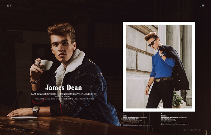 Esquire Turkey Delivers James Dean-Inspired Editorial