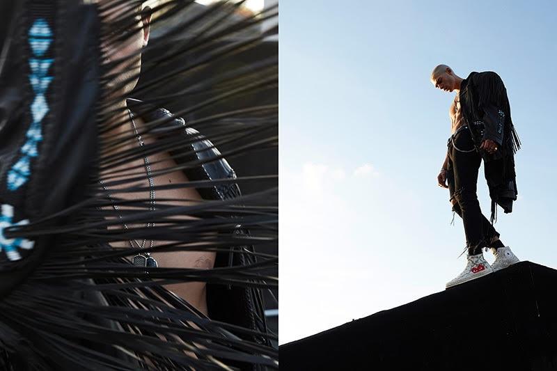 Model Evan Leff updates his portfolio with new photos.