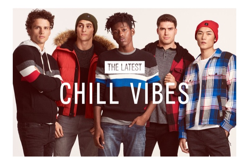 Express embraces chill vibes for its casual guide to the holidays.