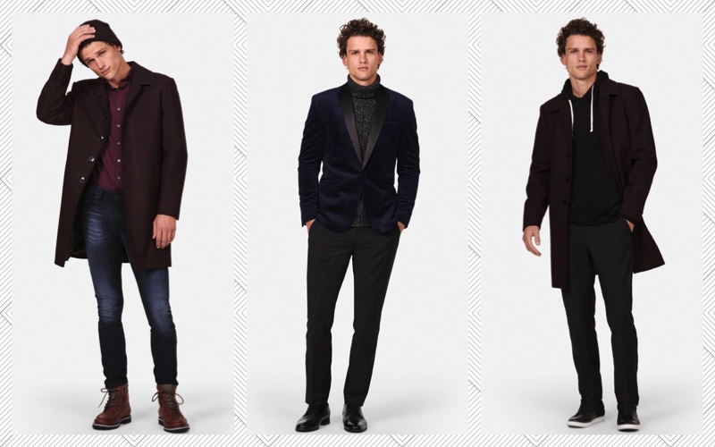 Simon Nessman dons essential looks from Express Men.