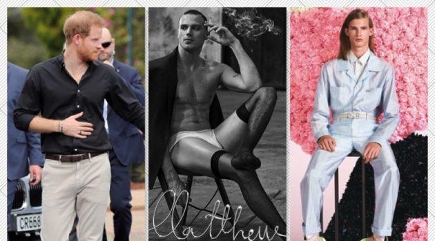 Week in Review: Prince Harry, Matthew Noszka, Dior Men + More