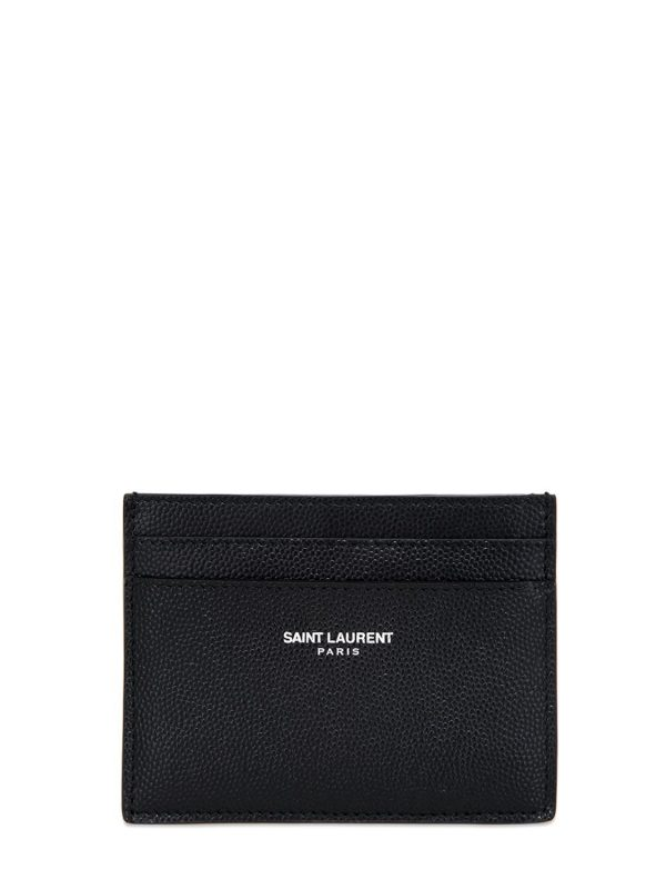 Grain Leather Card Holder
