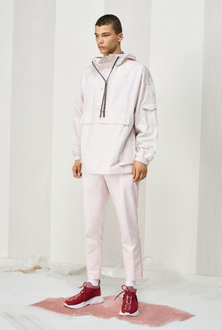 HUGO Juxtaposes Sporty Style & Tailoring for Spring '19 Collection