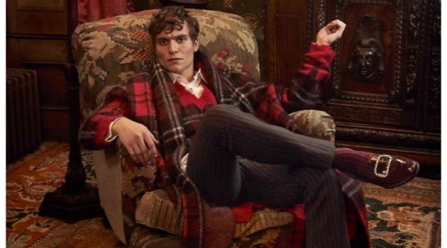 George Admiraal Dons Tartan Holiday Style for How to Spend It