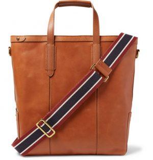 J.Crew - Oar Leather Tote Bag - Tan