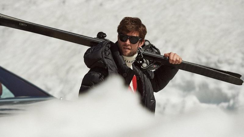 Jan Trojan Does Après-Ski Style with Mr Porter