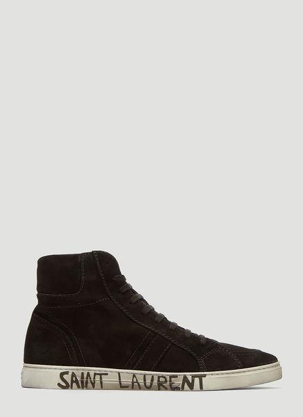 Joe High-Top Suede Sneakers