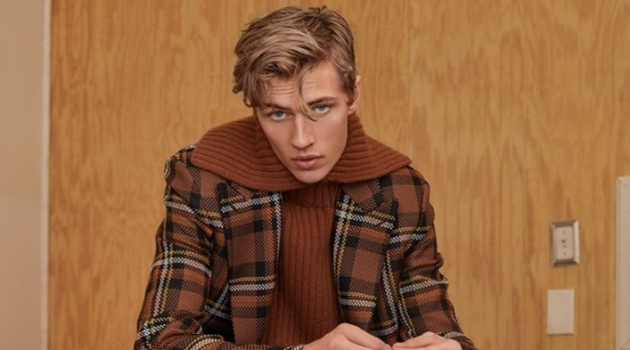 Lucky Blue Smith Dons Prints for Vogue Man Arabia Cover Story