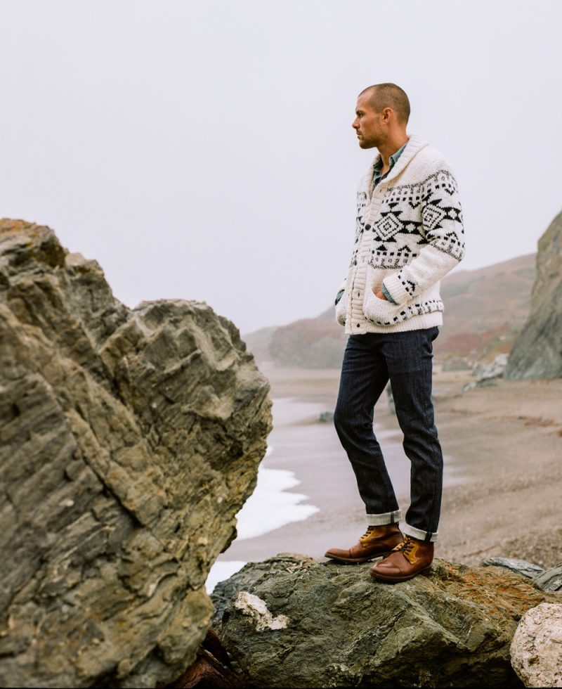 Lucky Brand taps Zac Taylor as the star of its holiday 2018 campaign.