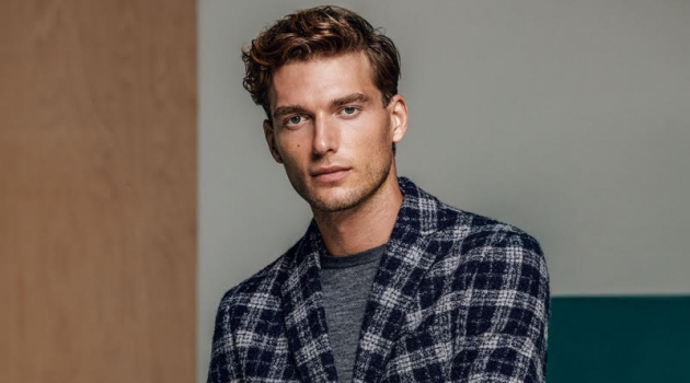 Nikola Jovanovic Dons Smart Gent Style from Lufian Fall '18 Collection