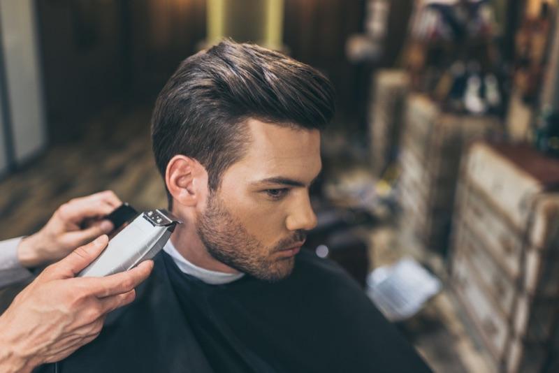 Man Barber Shop Haircut