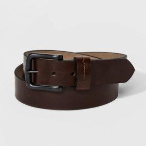 Men's 35mm St Loop Belt - Goodfellow & Co Brown M