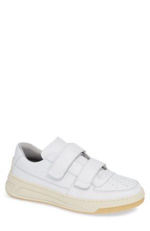 Men's Acne Studios Perey Face Sneaker, Size 8US / 41EU - White