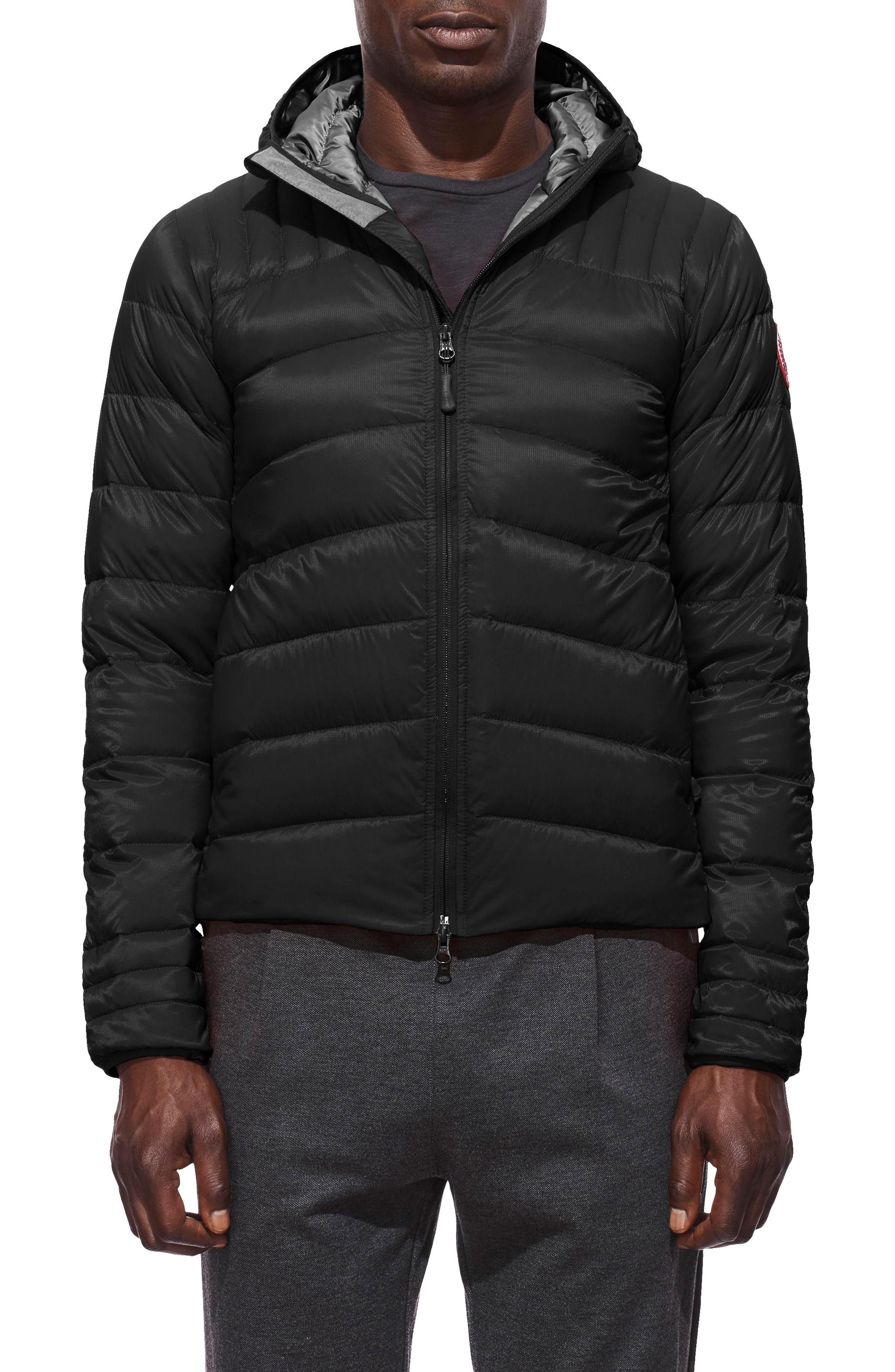 Men S Canada Goose Brookvale Slim Fit Hooded Down Jacket