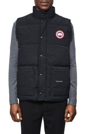 Men's Canada Goose Freestyle Regular Fit Down Vest, Size Small - Blue