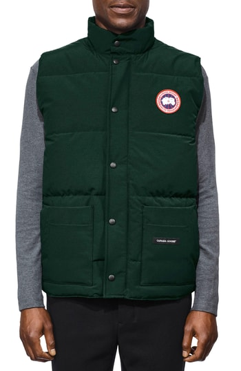 Men's Canada Goose Freestyle Regular Fit Down Vest, Size X-Small - Green