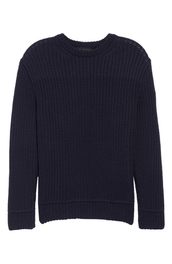 Men's Canada Goose Galloway Regular Fit Merino Wool Sweater, Size Small - Blue