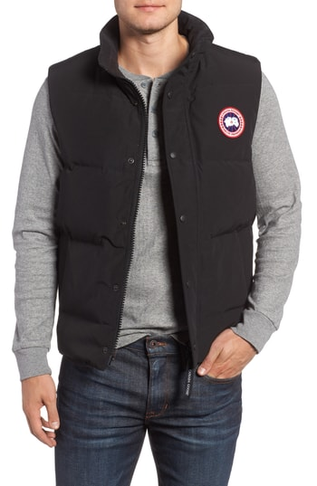 Men's Canada Goose Garson Regular Fit Quilted Down Vest
