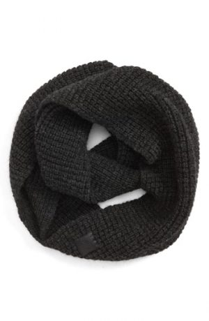 Men's Canada Goose Infinity Wool Scarf, Size One Size - Grey