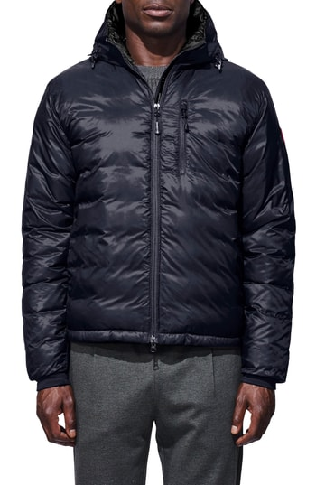 Men's Canada Goose 'Lodge' Slim Fit Packable Jacket, Size Small - Blue