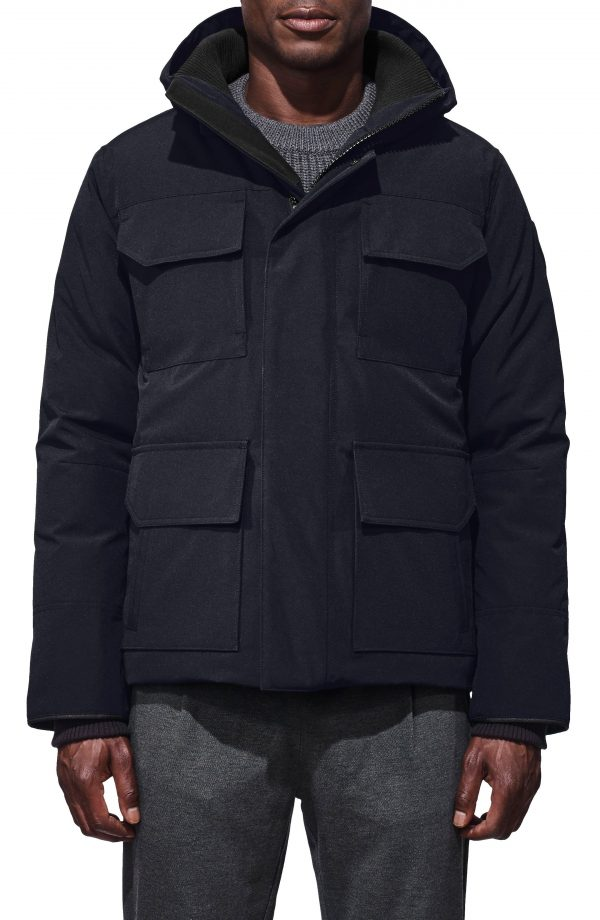 Men's Canada Goose 'Maitland' Slim Fit Down Fill Parka, Size Small - Blue