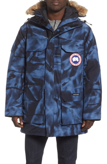 Men's Canada Goose Pbi Expedition Regular Fit Down Parka With Genuine Coyote Fur Trim