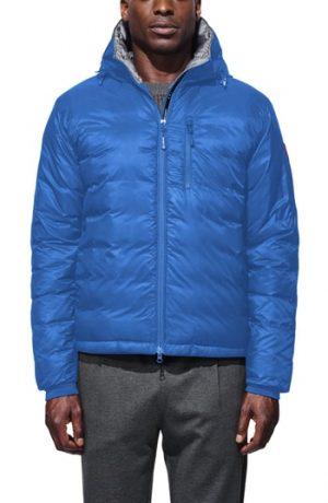Men's Canada Goose Pbi Lodge Slim Fit Packable Down Hooded Jacket