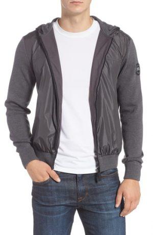 Men's Canada Goose Windbridge Regular Fit Hooded Sweater Jacket, Size Small - Grey