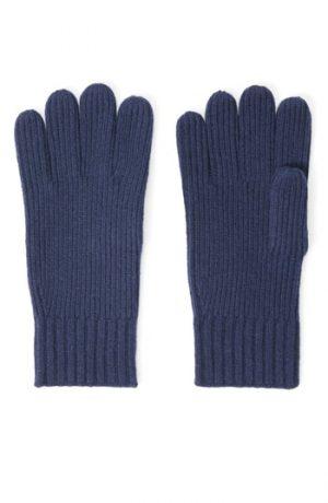 Men's Club Monaco Kensington Cashmere Blend Gloves, Size One Size - Blue