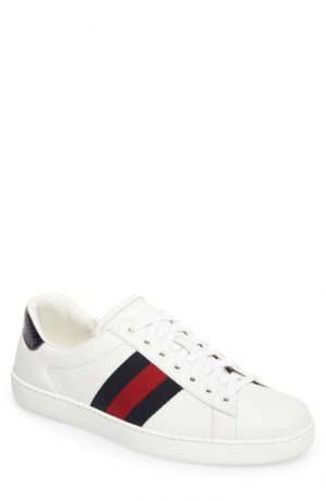 Men's Gucci New Ace Clean Sneaker, Size 15US / 14UK - White
