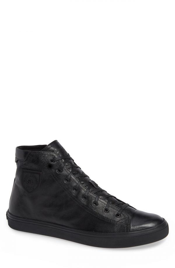 Men's Saint Laurent Bedford Sneaker, Size 7US / 40EU - Black