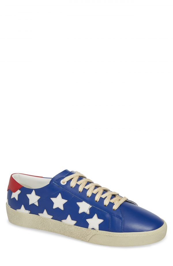 Men's Saint Laurent Star Low-Top Sneaker