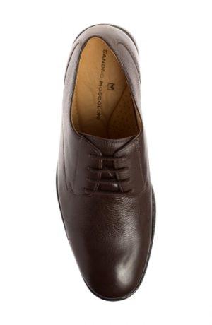 Men's Sandro Moscoloni Wallace Plain Toe Derby, Size 7.5 D - Brown