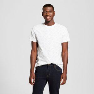 Men's Standard Fit Short Sleeve Crew Neck T-Shirt - Goodfellow & Co Horizon Blue L