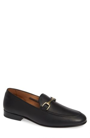Men's Vince Camuto 'Borcelo' Bit Loafer, Size 8 M - Black
