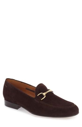Men's Vince Camuto 'Borcelo' Bit Loafer, Size 8.5 M - Brown