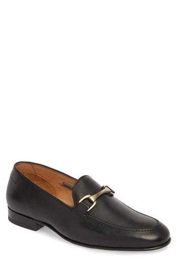 Men's Vince Camuto 'Borcelo' Bit Loafer, Size 9 M - Black