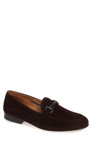 Men's Vince Camuto Brag Bit Loafer, Size 8 M - Brown