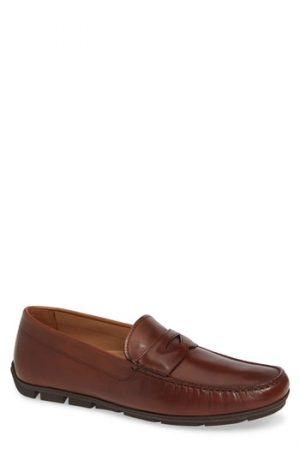 Men's Vince Camuto Ditto Driving Shoe, Size 8 M - Brown
