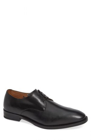 Men's Vince Camuto Hasper Plain Toe Derby, Size 8 M - Black