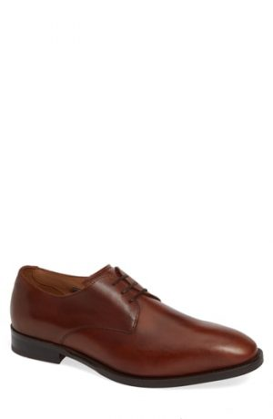 Men's Vince Camuto Hasper Plain Toe Derby, Size 8 M - Brown