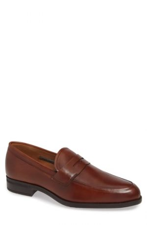 Men's Vince Camuto Iggi Penny Loafer, Size 8 M - Brown