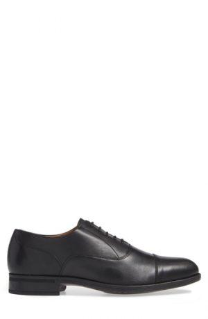 Men's Vince Camuto Iven Cap Toe Oxford, Size 8 M - Black
