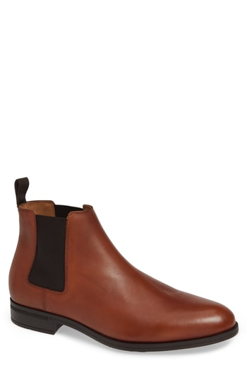 Men's Vince Camuto Ivo Mid Chelsea Boot, Size 8 M - Brown