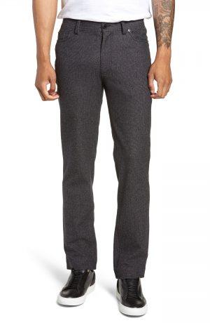 Men's Vince Camuto Slim Fit Stretch Five-Pocket Pants, Size 28 x 32 - Black