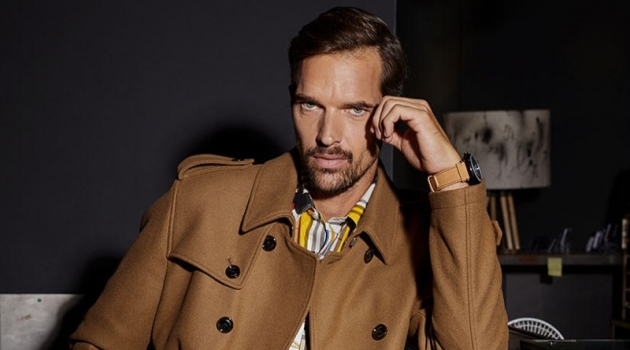 Michael Gstoettner Covers Style Up Your Life, Dons Dashing Fall Style