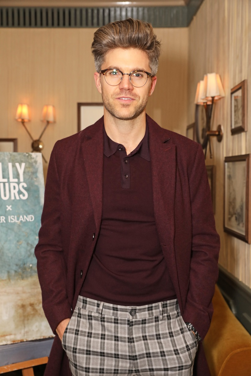 Darren Kennedy makes an appearance at Olly Murs' River Island dinner.